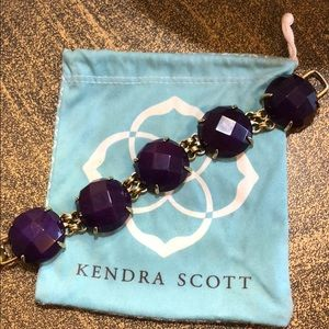 Kendra Scott Cassie Bracelet in purple